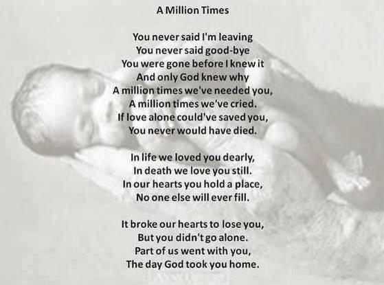 A Million Times…..