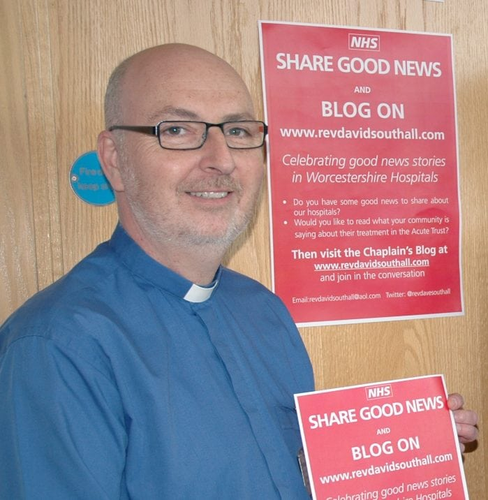 Spotlight On…..The Rev'd David Southall, Chaplain, Worcestershire Royal Hospital