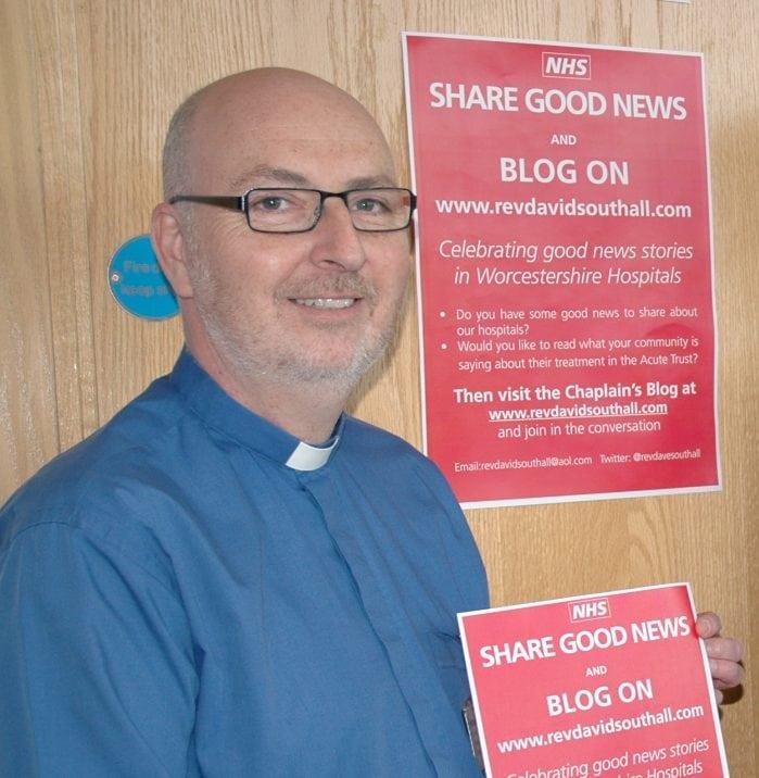 Spotlight On…..The Rev'd David Southall, Chaplain, Worcestershire Royal Hospital