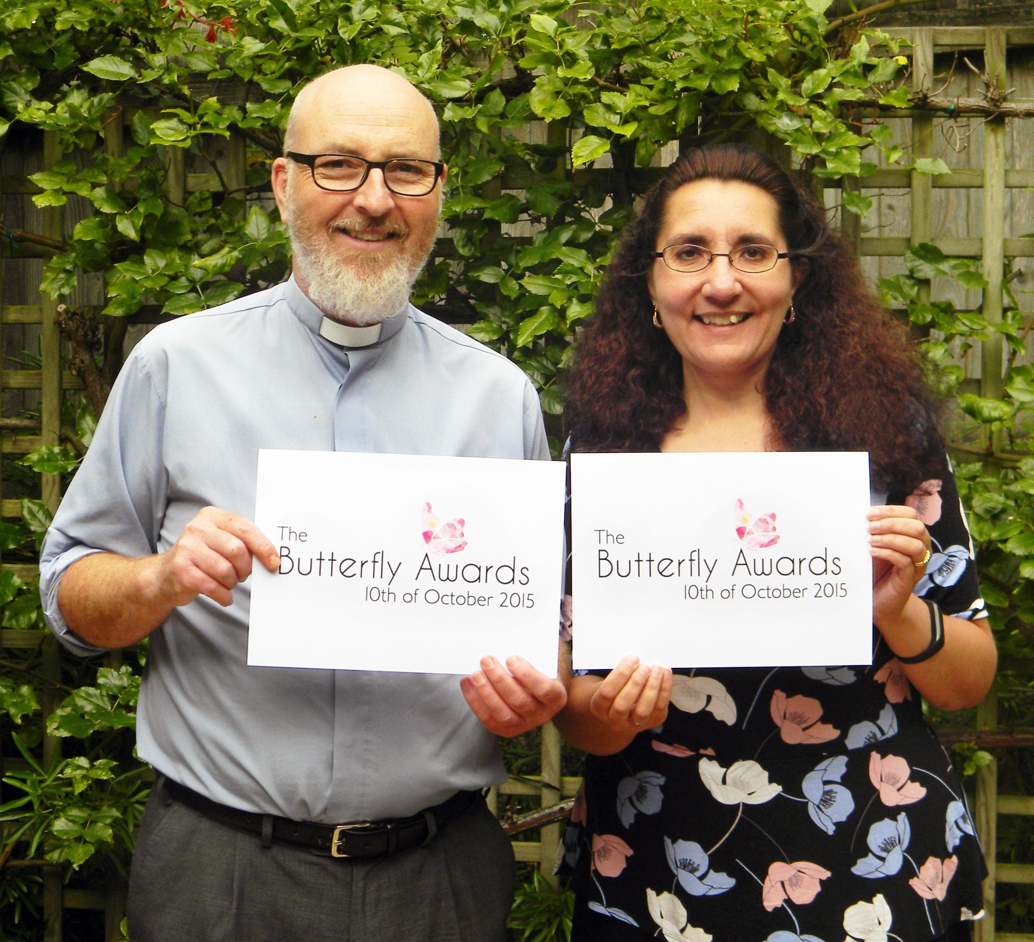 Please Vote For Me & Rev'd David Southall In This Year's Butterfly Awards