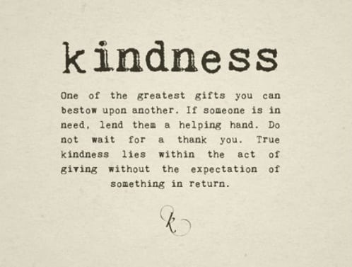 The Kindness Of Strangers: Restoring My Faith In The World And In People