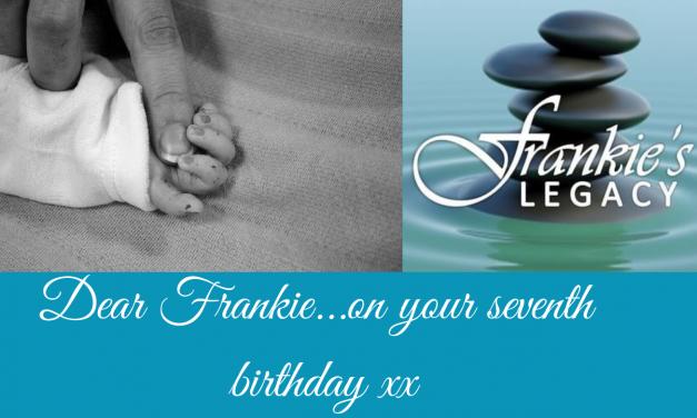Dear Frankie…on your Seventh Birthday xx